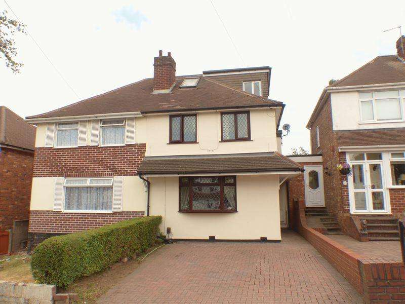 4 Bedrooms Semi Detached House for sale in Southgate Road, Great Barr, Birmingham