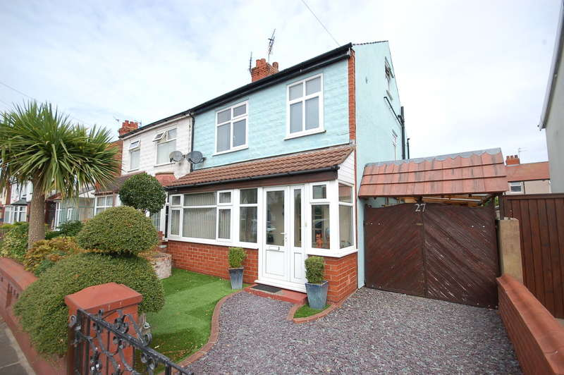 3 Bedrooms Semi Detached House for sale in Fernhurst Avenue, Blackpool