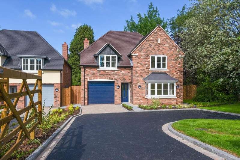 4 Bedrooms Detached House for sale in Plot 4 Icknield Street, Church Hill North, Redditch