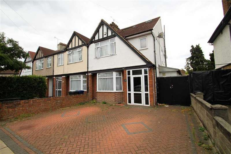 4 Bedrooms End Of Terrace House for sale in Oldfield Lane South, Greenford, Middlesex