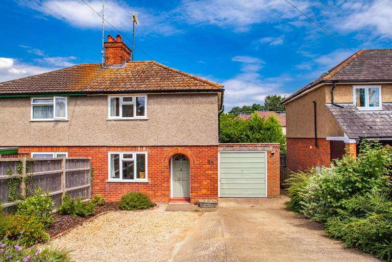 2 Bedrooms Semi Detached House for sale in 43 Elvendon Road, Goring on Thames, RG8