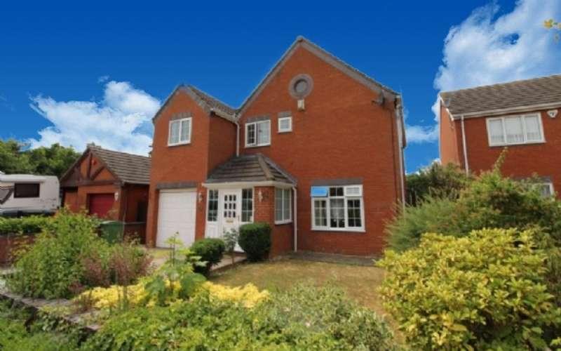 4 Bedrooms Detached House for sale in Telford Way, Blakelands, Milton Keynes, Buckinghamshire