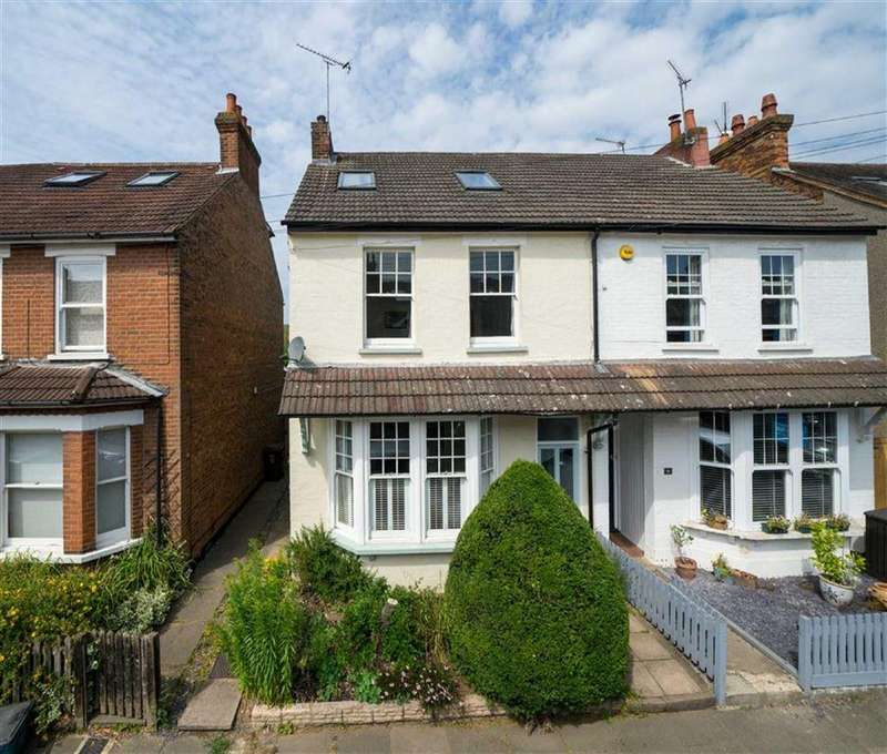 4 Bedrooms Semi Detached House for sale in Glenferrie Road, St Albans, Hertfordshire
