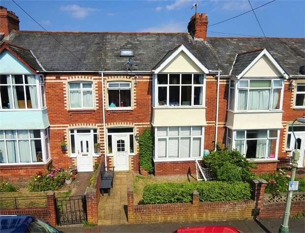 4 Bedrooms Terraced House for sale in First Avenue, Heavitree, EXETER, Devon