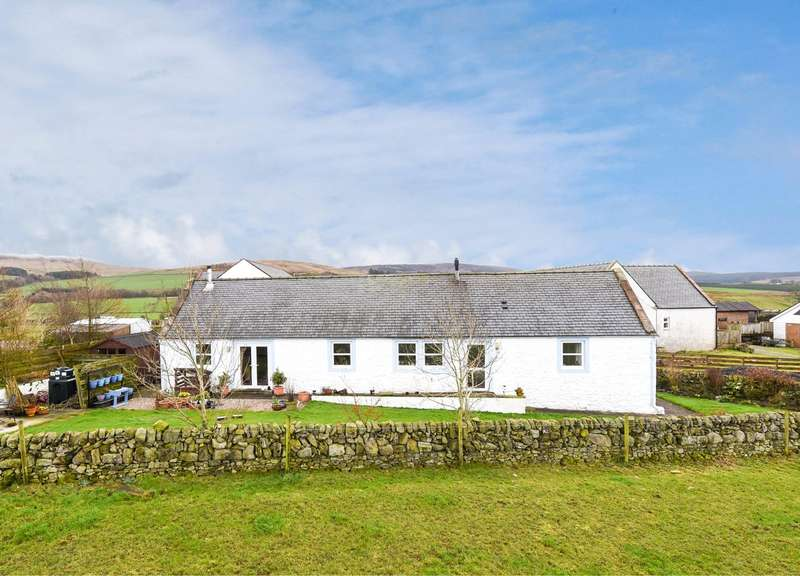 4 Bedrooms Detached Bungalow for sale in Phoenix Cottage, Drumjohn, Kirkgunzeon, Dumfries, DG2
