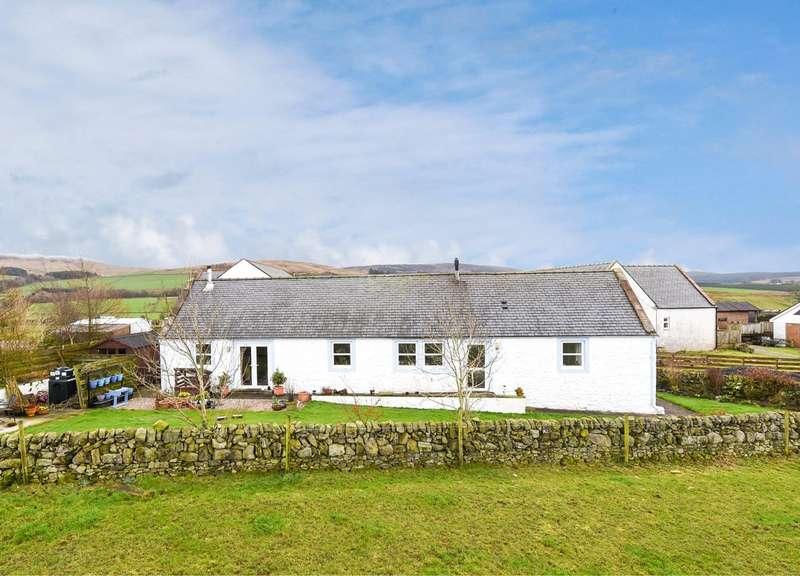 4 Bedrooms Detached Bungalow for sale in Phoenix Cottage, Drumjohn, Kirkgunzeon, Dumfries, DG2