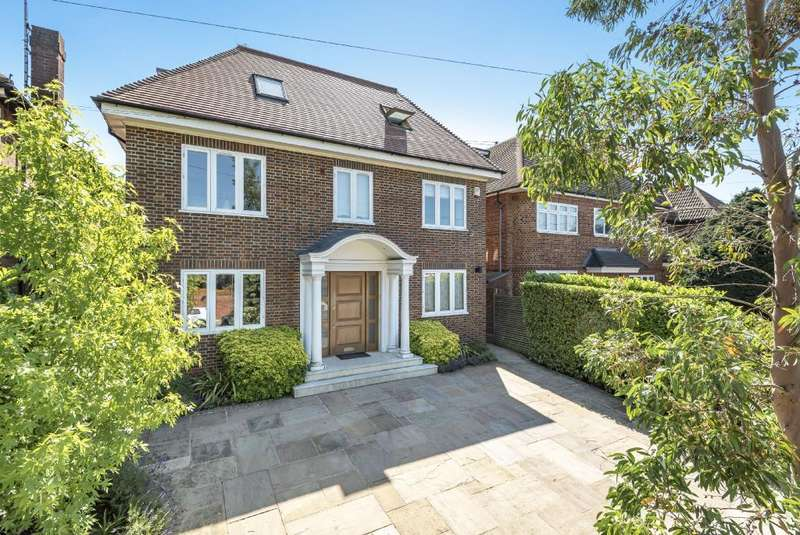 5 Bedrooms Detached House for sale in Parklands Drive, Finchley N3, N3