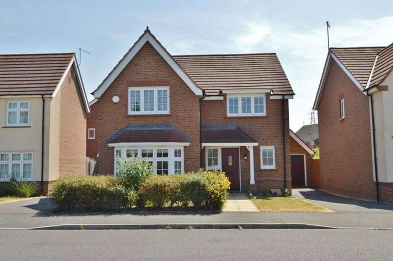 4 Bedrooms Detached House for sale in Valerian Drive, Doxey