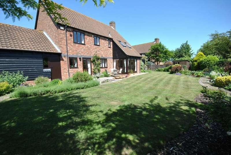 4 Bedrooms Detached House for sale in High Street, Thorndon, Suffolk