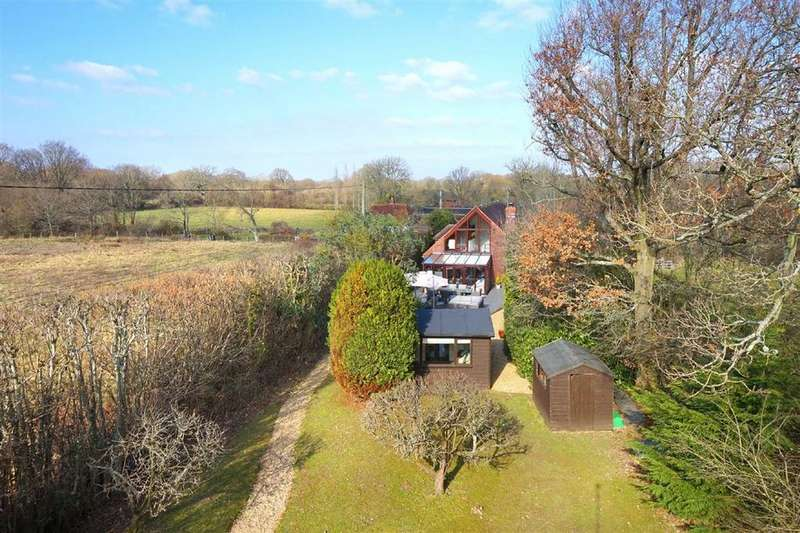 4 Bedrooms Detached House for sale in Ditchling Common, Ditchling, West Sussex