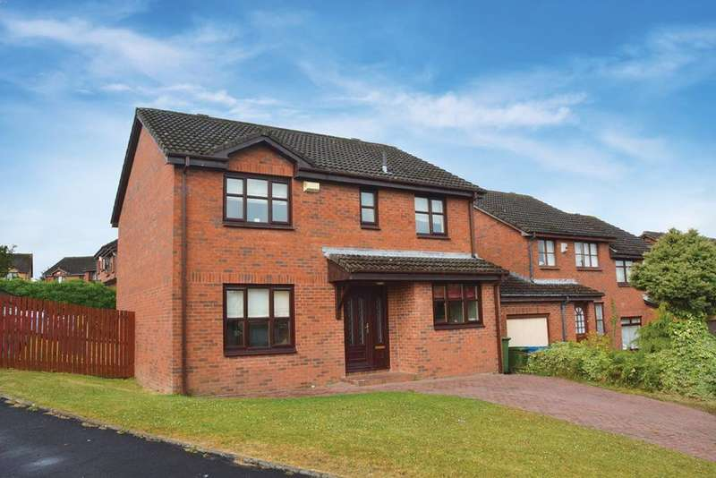 4 Bedrooms Detached House for sale in Waukglen Drive, Glasgow, G53
