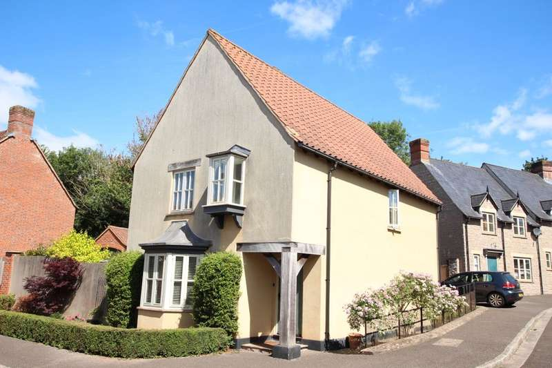 4 Bedrooms Detached House for sale in Bluebell Rise, Midsomer Norton, Radstock, BA3
