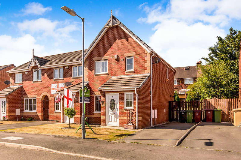 3 Bedrooms Semi Detached House for sale in Elterwater Road, Farnworth, Bolton, BL4