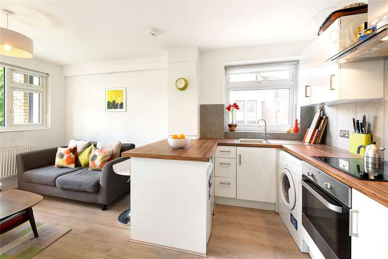 1 Bedroom Maisonette Flat for sale in Lindsay Court, Battersea High Street, Battersea, London, SW11