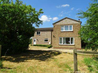 3 Bedrooms Detached House for sale in Odd Fellows Lane, Langworth, Lincoln, .
