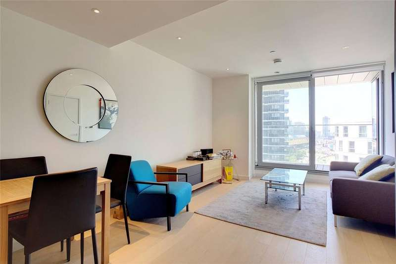 1 Bedroom Flat for sale in Charrington Tower, Biscayne Avenue, London, E14