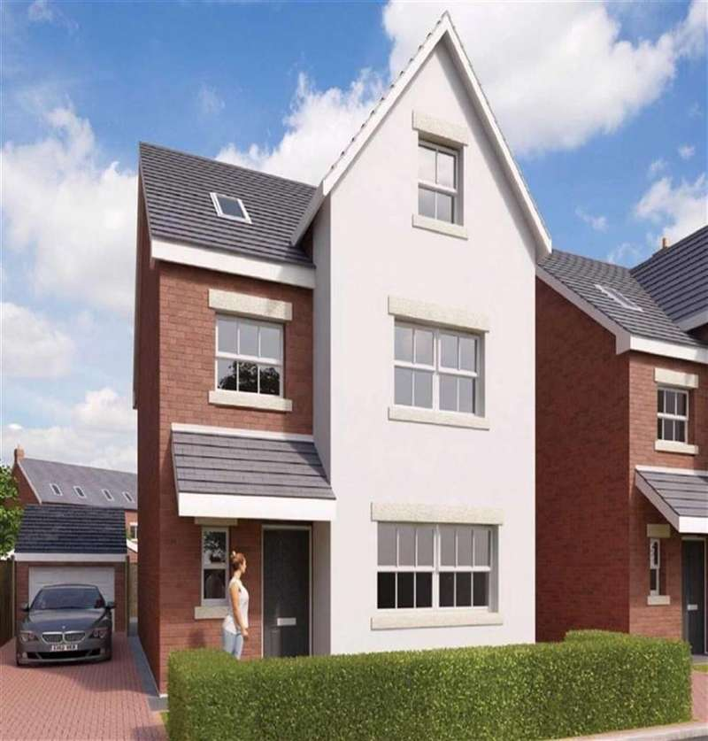 4 Bedrooms Detached House for sale in The Rhodes, Gresford, Wrexham