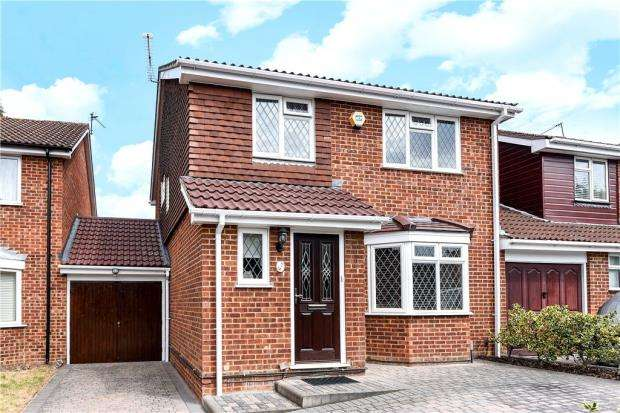 3 Bedrooms Link Detached House for sale in Coriander Way, Earley, Reading