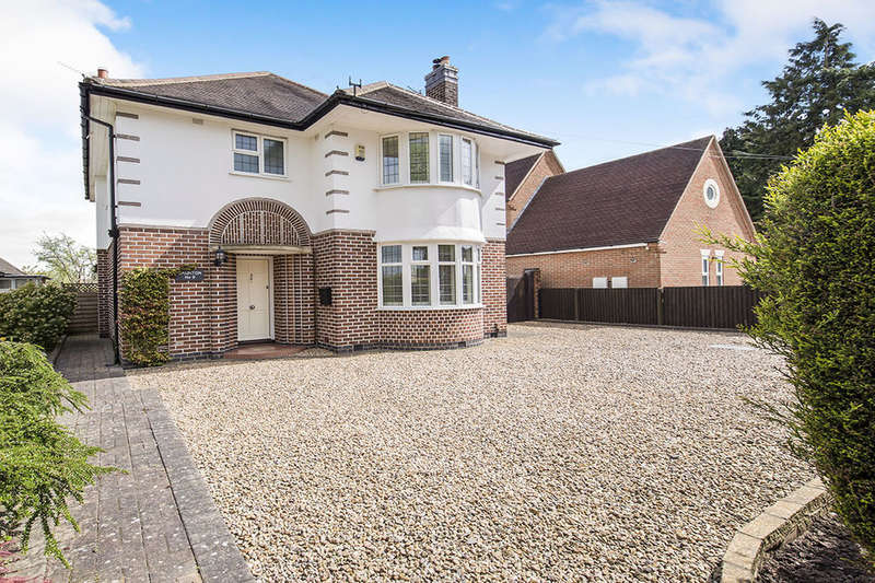 4 Bedrooms Detached House for sale in Bradgate Road, HINCKLEY, LE10