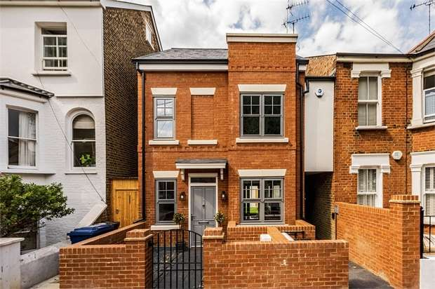 4 Bedrooms Detached House for sale in Evelyn Road, Chiswick