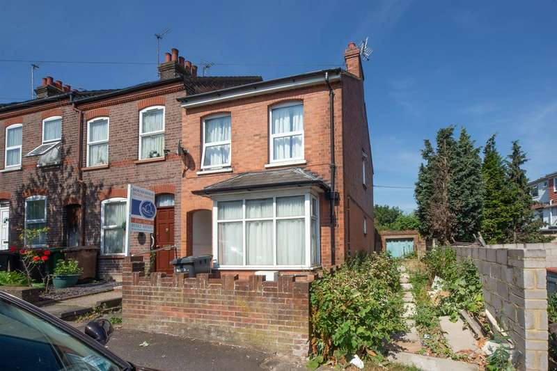 2 Bedrooms End Of Terrace House for sale in Ferndale Road, Luton