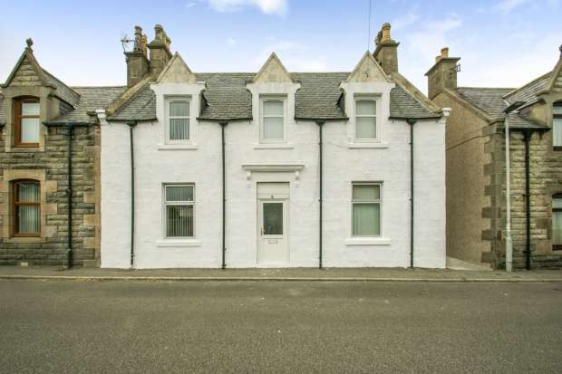 5 Bedrooms Semi Detached House for sale in Cliff Street, Buckie, Banffshire, AB56 1LT