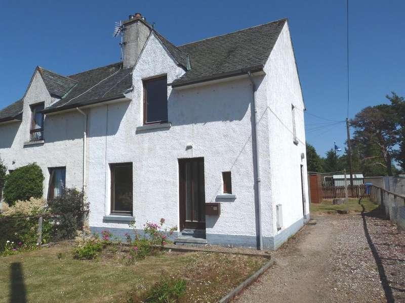 2 Bedrooms Semi Detached House for sale in Craigie Avenue, Boat of Garten, PH24