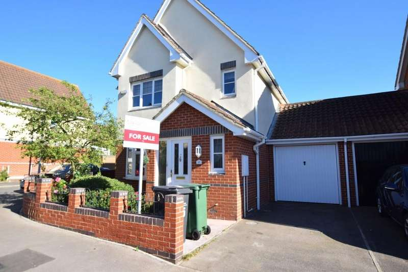 3 Bedrooms Detached House for sale in Tortoiseshell Way, Braintree