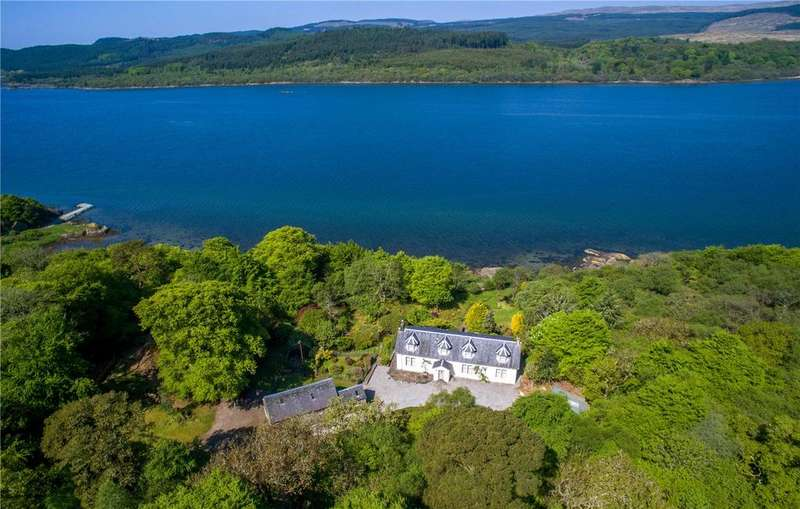 3 Bedrooms Unique Property for sale in Rhu Cottage, Tarbert, Argyll, PA29