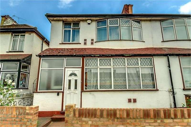 3 Bedrooms Semi Detached House for sale in North Circular Road, London