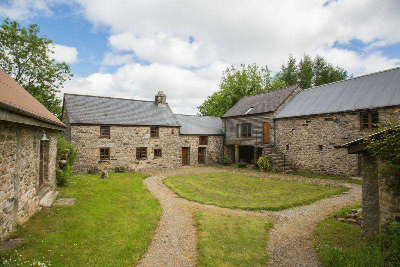 3 Bedrooms Detached House for sale in Longhouse Farm, Widecombe in the Moor
