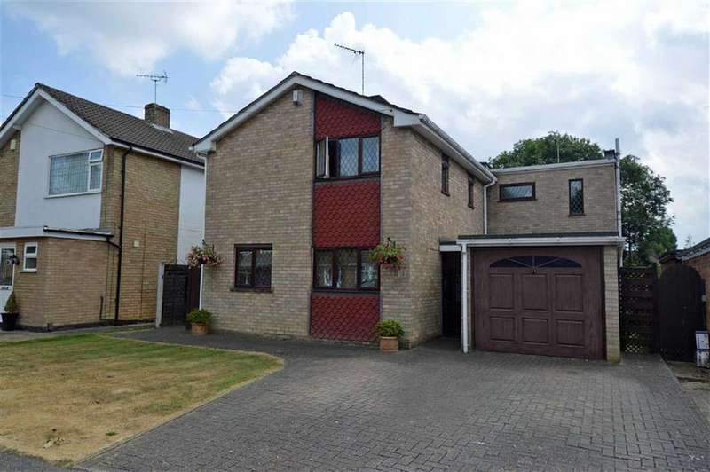 4 Bedrooms Detached House for sale in Clovelly Road, Glenfield
