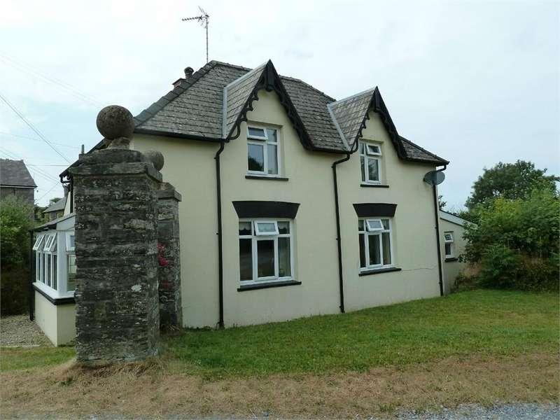 4 Bedrooms Detached House for sale in Gorwel, Bwlchygroes, Llanfyrnach, Pembrokeshire