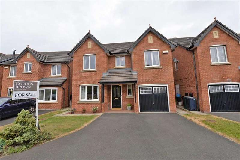 4 Bedrooms Detached House for sale in Wardley