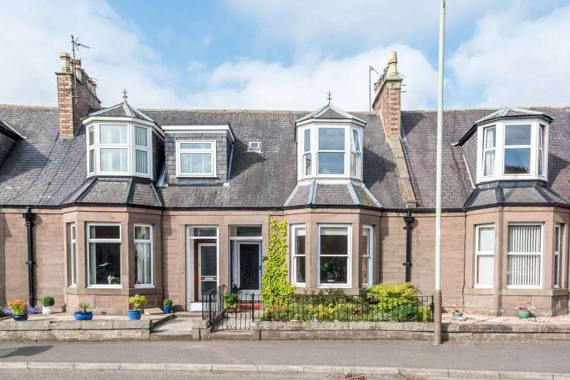 2 Bedrooms Terraced House for sale in Nolt Loan Road, Arbroath, DD11 2AL