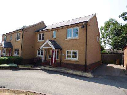 3 Bedrooms Semi Detached House for sale in Walnut Mews, Thorpe Road, Peterborough, Cambridgeshire