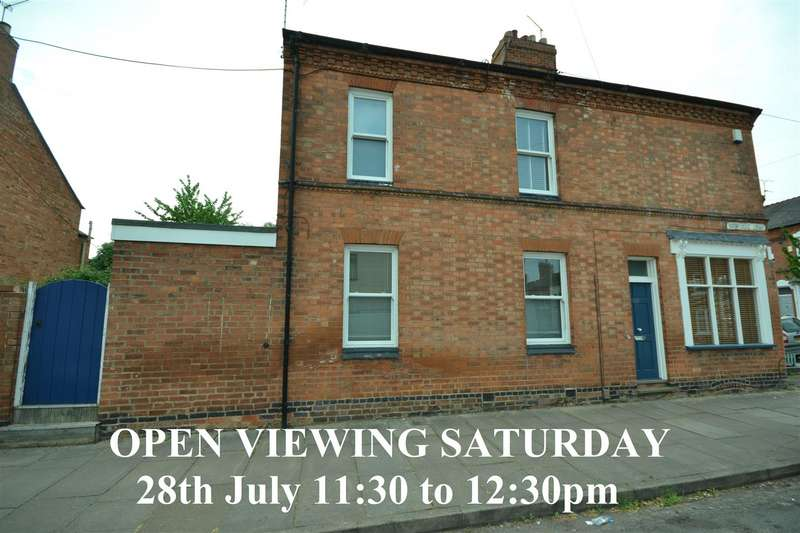 2 Bedrooms End Of Terrace House for sale in Montague Road, Leicester