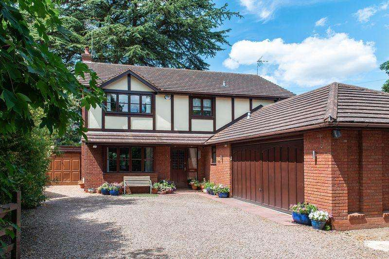 4 Bedrooms Detached House for sale in Beverley Court Stourport-On-Severn DY13 8SB