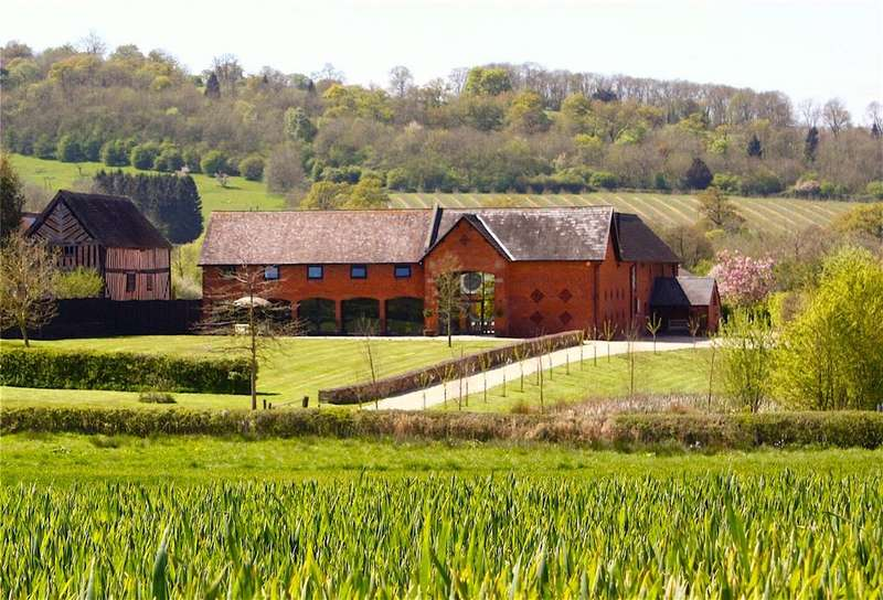 7 Bedrooms Detached House for sale in Park Farm, Mill Lane, Old Colwall, Herefordshire, WR13