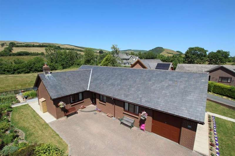 3 Bedrooms Detached Bungalow for sale in Erw Haf, Llanwrtyd Wells, Powys, LD5