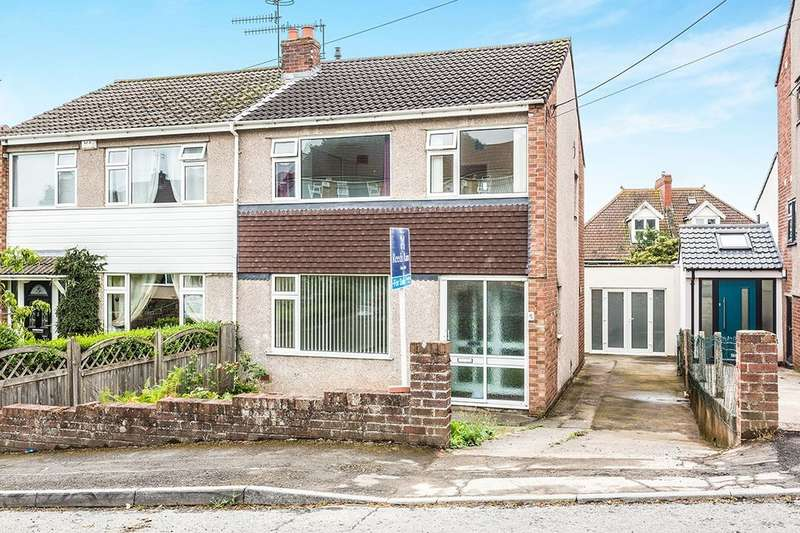 3 Bedrooms Semi Detached House for sale in Gardner Road, Portishead, Bristol, BS20