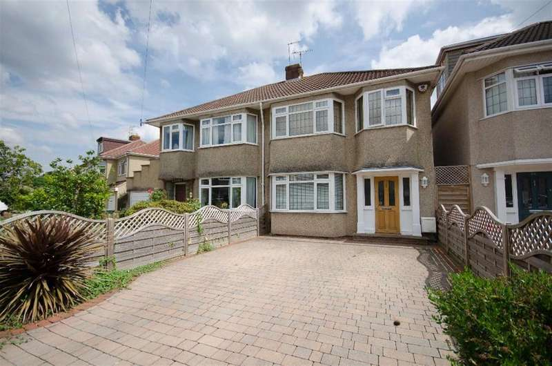 3 Bedrooms Semi Detached House for sale in Wedgewood Road, Downend, Bristol, BS16 6LT