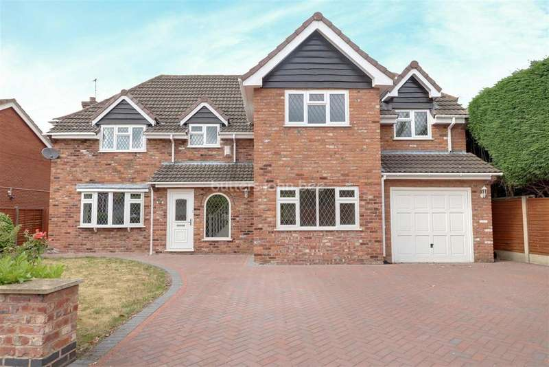 4 Bedrooms Detached House for sale in Mardale Close, Congleton