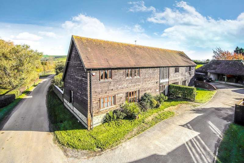 3 Bedrooms Semi Detached House for sale in Annington Barn, Botolphs Road, Bramber, West Sussex, BN44 3WB