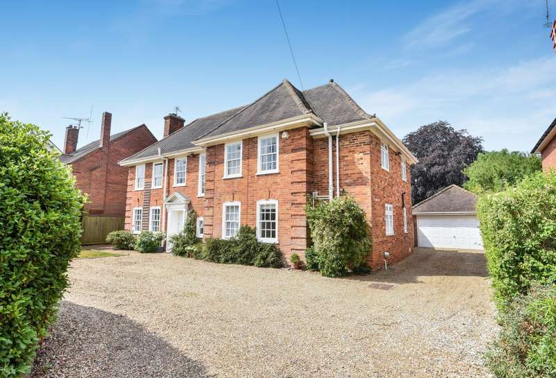 5 Bedrooms Detached House for sale in Caversham Heights