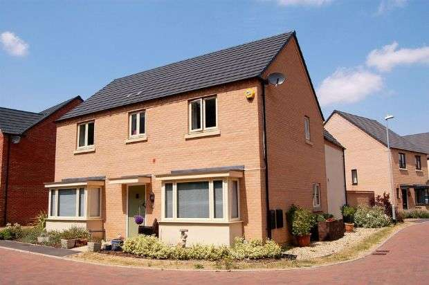 4 Bedrooms Detached House for sale in Scott Close, Marina Park, Northampton NN5 4DZ