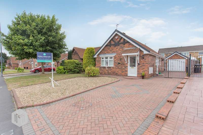 2 Bedrooms Semi Detached Bungalow for sale in St Georges Avenue, Westhoughton, Bolton, BL5