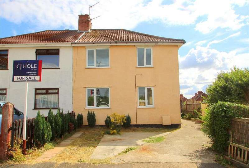 3 Bedrooms Semi Detached House for sale in Dundry View, Knowle, BRISTOL, BS4