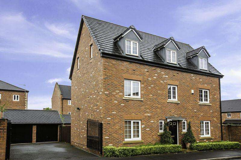 5 Bedrooms Detached House for sale in Bolbury Crescent, Agecroft Hall, Swinton, Manchester