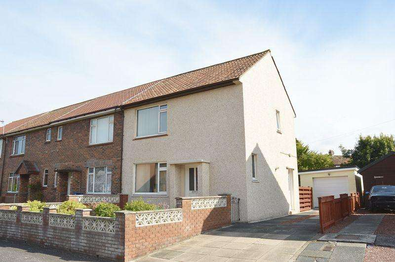 2 Bedrooms End Of Terrace House for sale in Glencairn Road, Ayr